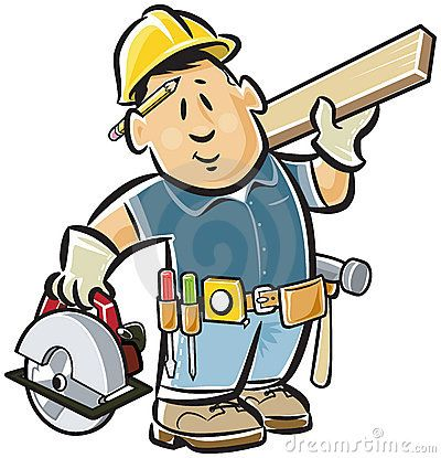 Handyman Carpenter Low Maintenance Dog Breeds Handyman Handyman Logo