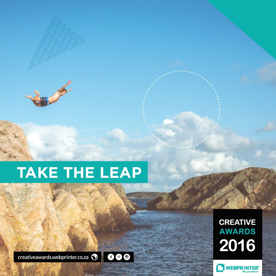 Design Students: Have you entered the Creative Awards yet? Take the leap and stand a chance to WIN R20,000. Enter here: http://creativeawards.webprinter.co.za/