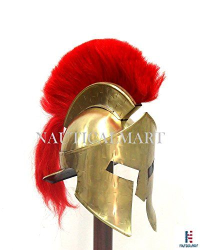 300 movie Troy Achilles Armor Medieval Knight Crusader Greek Spartan Helmet Gift