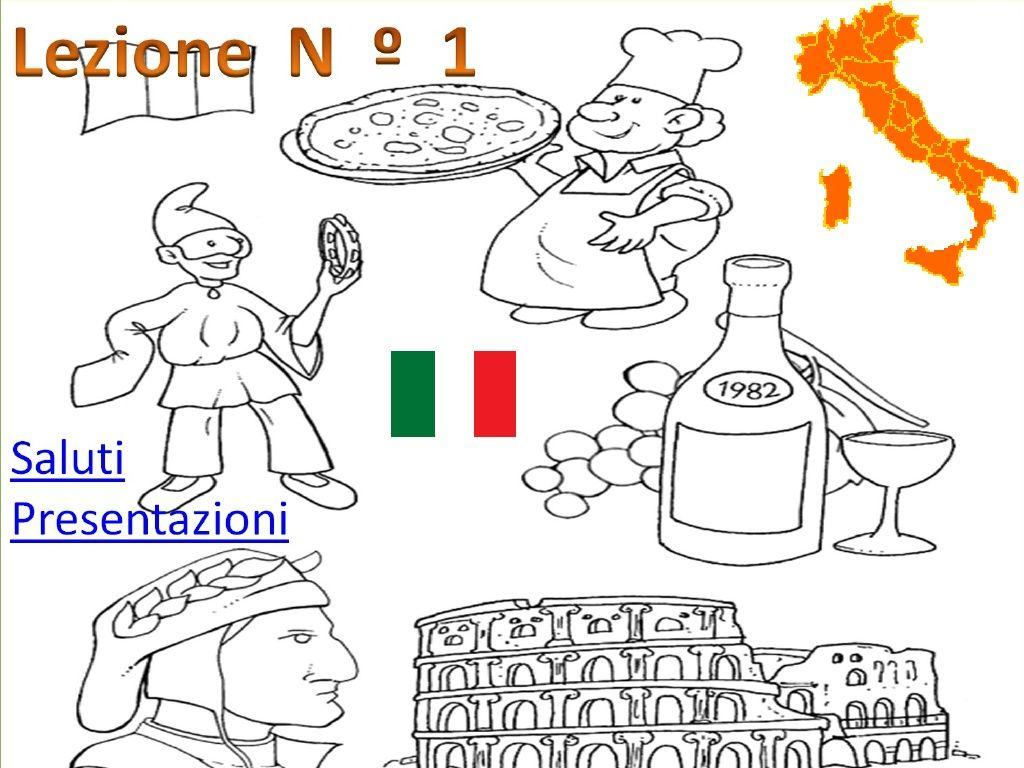 Lez Presentarsi In Italiano In