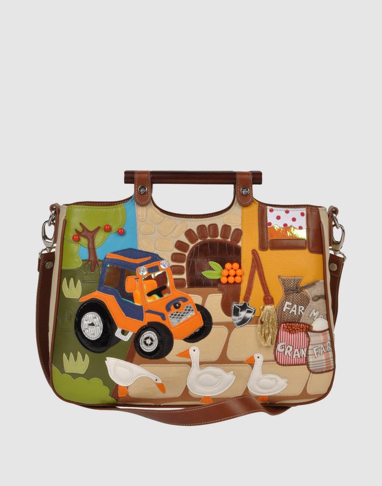 TUA BY BRACCIALINI Large fabric Bag