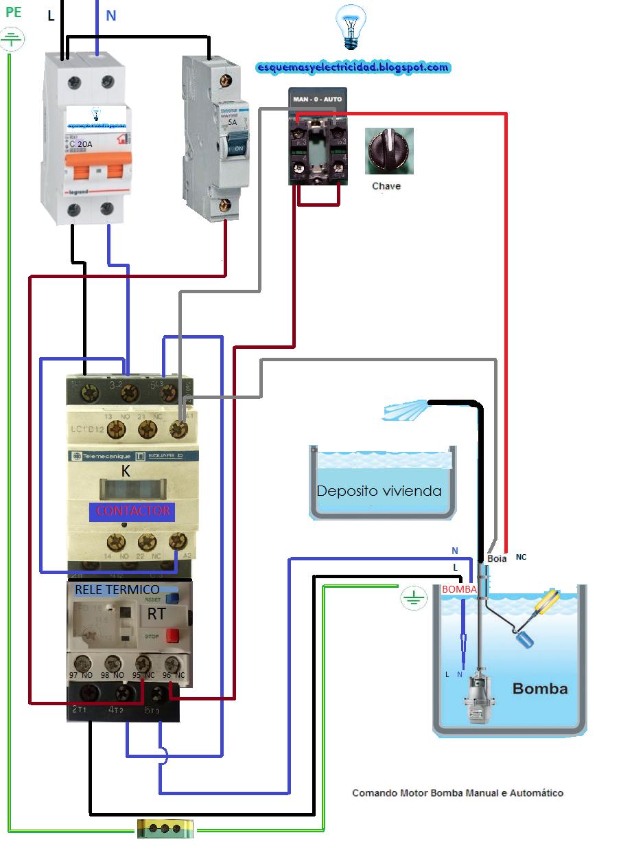 medium resolution of mando motor bomba manual automatico postimage org