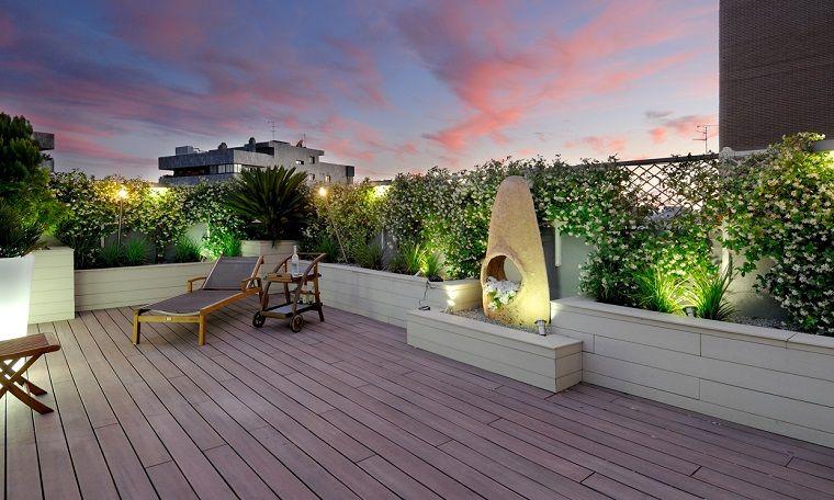 Stunning Illuminazione Terrazzo Gallery - Idee Arredamento Casa ...