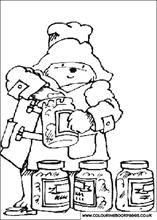 Tasting The Honey Bear Coloring Pages Paddington Bear