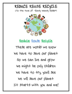 Reduce, Reuse, Recycle song - Earth Day - Re-pinned by @PediaStaff ...