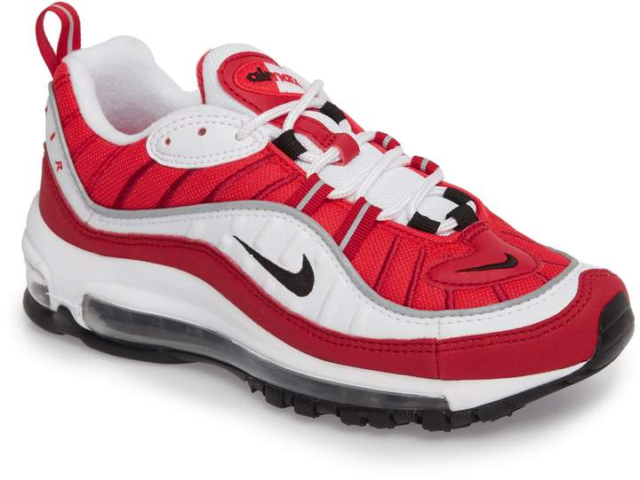 info for eef5e fef5c Women's Nike Air Max 98 Running Shoe, Size 7 M - White in ...