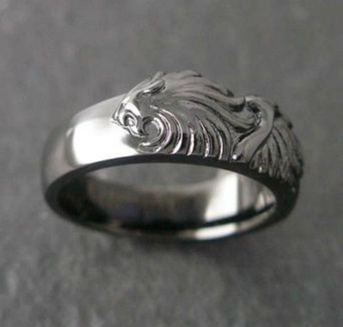 FINAL FANTASY VIII 8 Black Silver Ring Squall Square Enix Official
