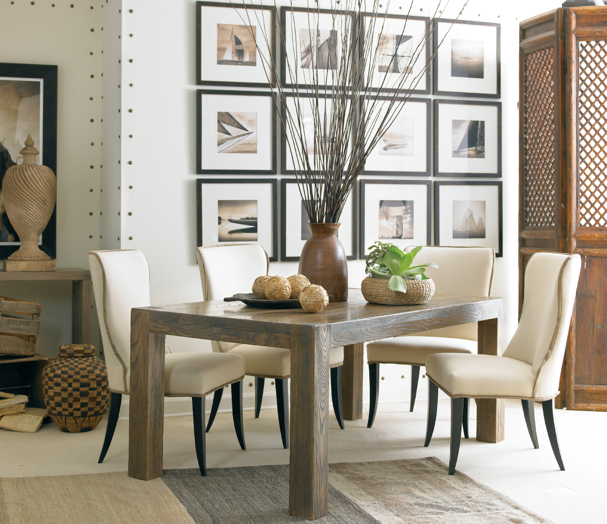 Sonoma Dining Table | Sherrill Occasional - CTH | Home ...