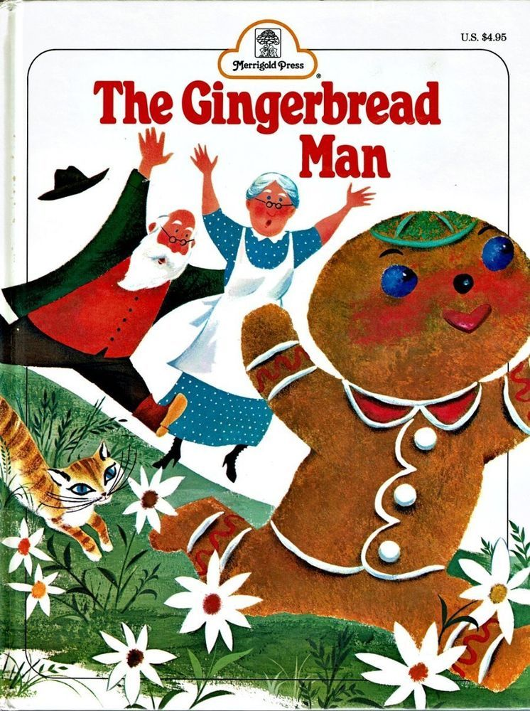 THE GINGERBREAD MAN Rutherford Merrigold Press