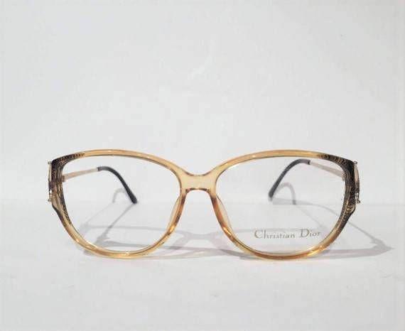ef659ea2f5 Vintage 80s Christian Dior Glasses Frames