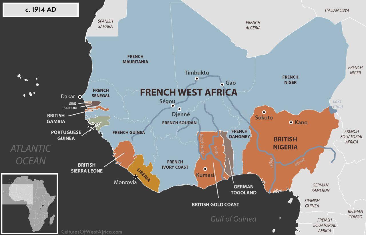 Kort Over Afrika Bexdyie