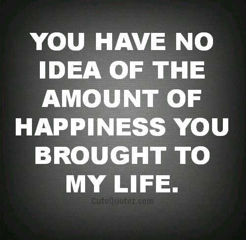 U R My Happiness U R My Life Love Quotes Inspirational Quotes Words