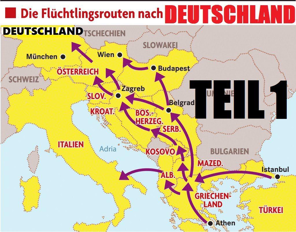 Die Fluchtlingsluge 1 Reporterteam Folgt Fluchtlingen Auf Der Balkanroute Italien Adria Zagreb Budapest