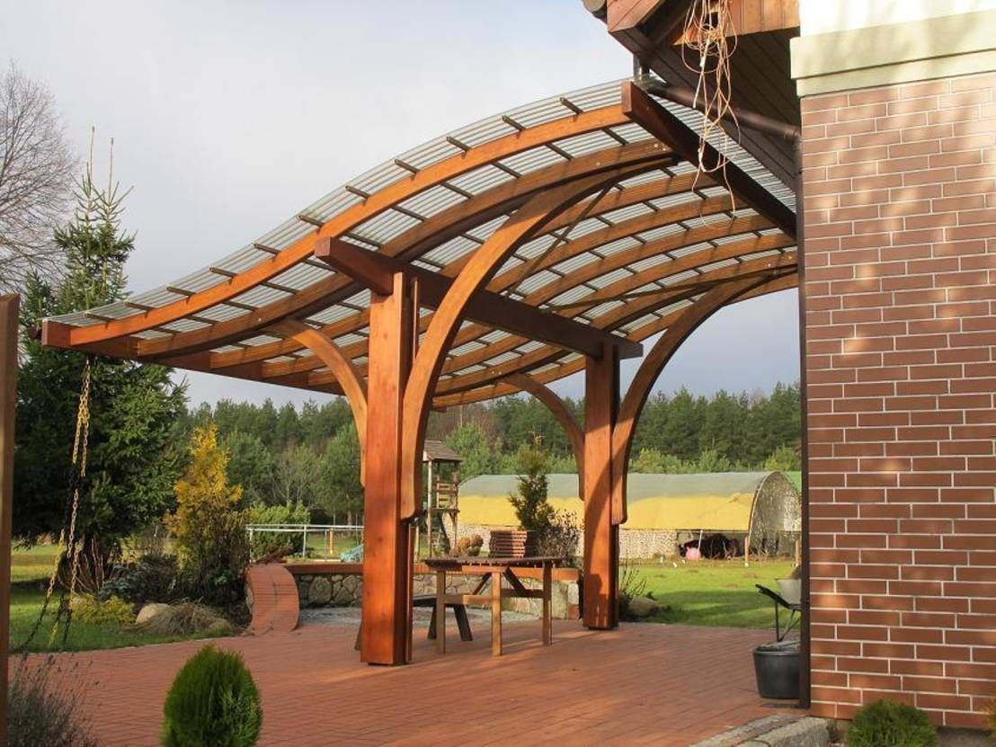 C mo construir una p rgola de madera pergolas patios for Como construir una pergola