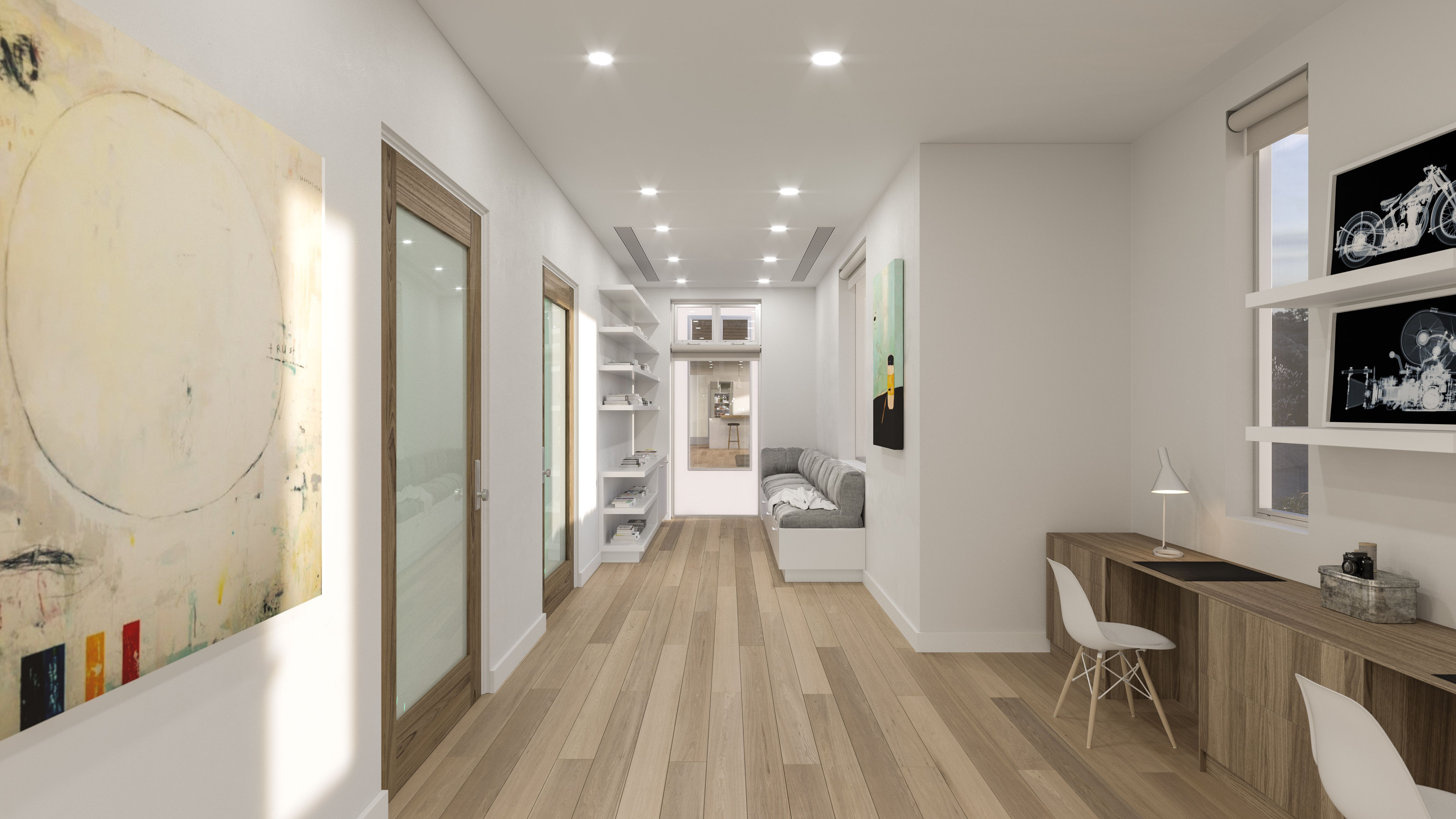 Perfect Love The Interior Door, The Built Ins And These Wood Floors. 23800 Malibu