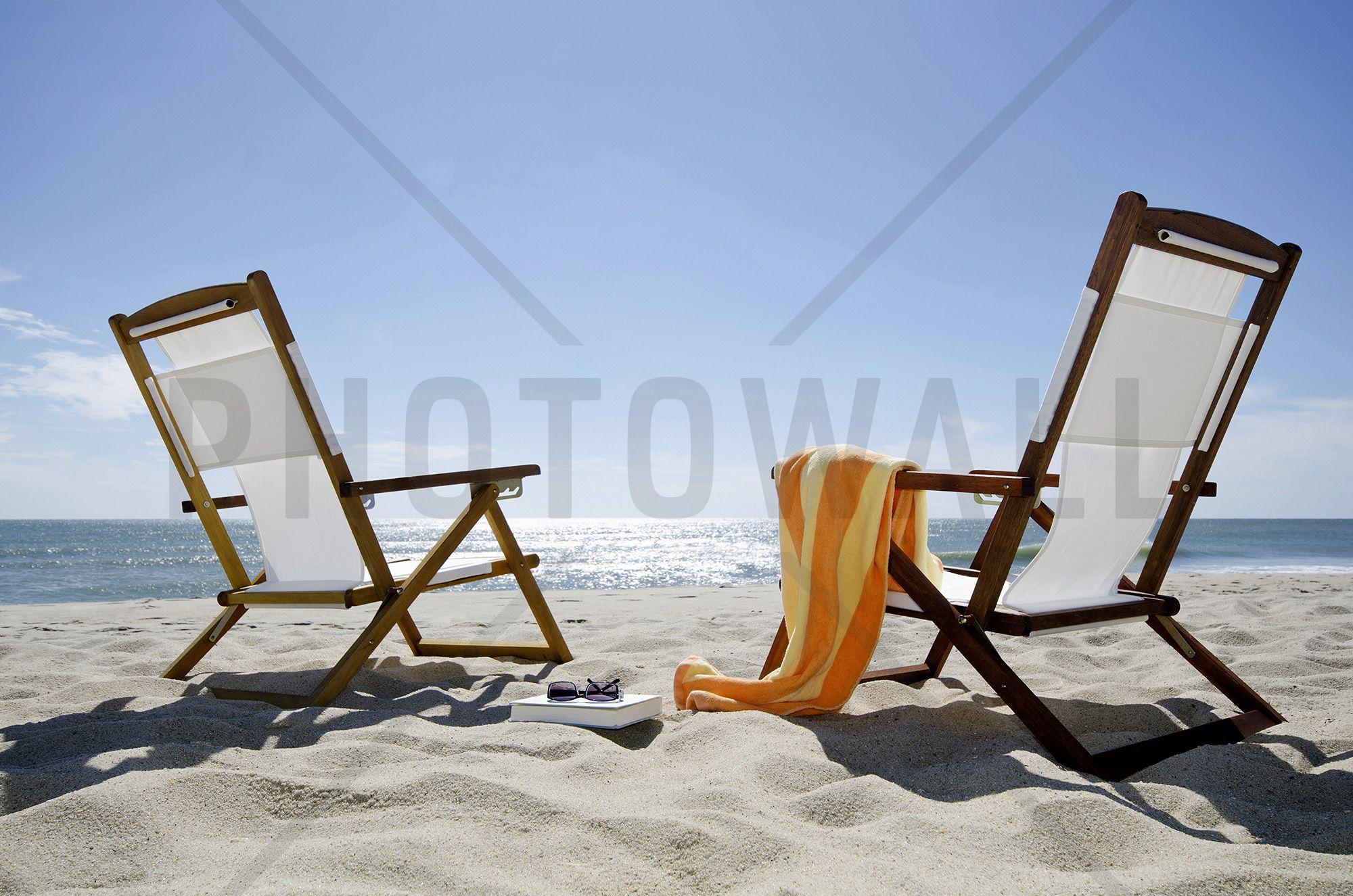 Sun Chairs - Wall Mural & Photo Wallpaper - Photowall