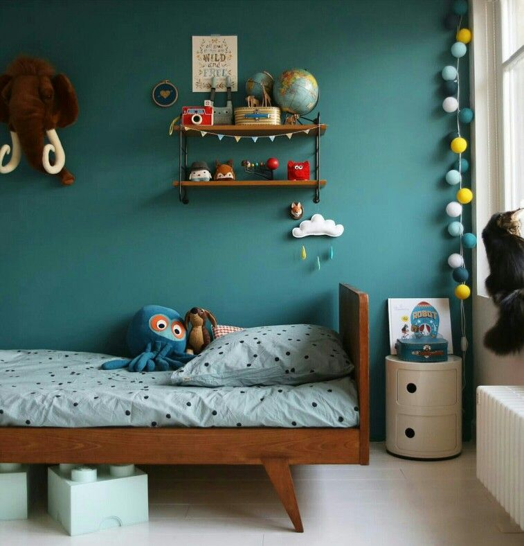 Bleu Vardo Farrow And Ball Deco Kids Pinterest