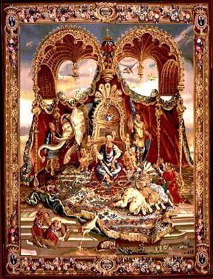Athena Vs Arachne Mythology Tapestry Rugs On Carpet Rugs