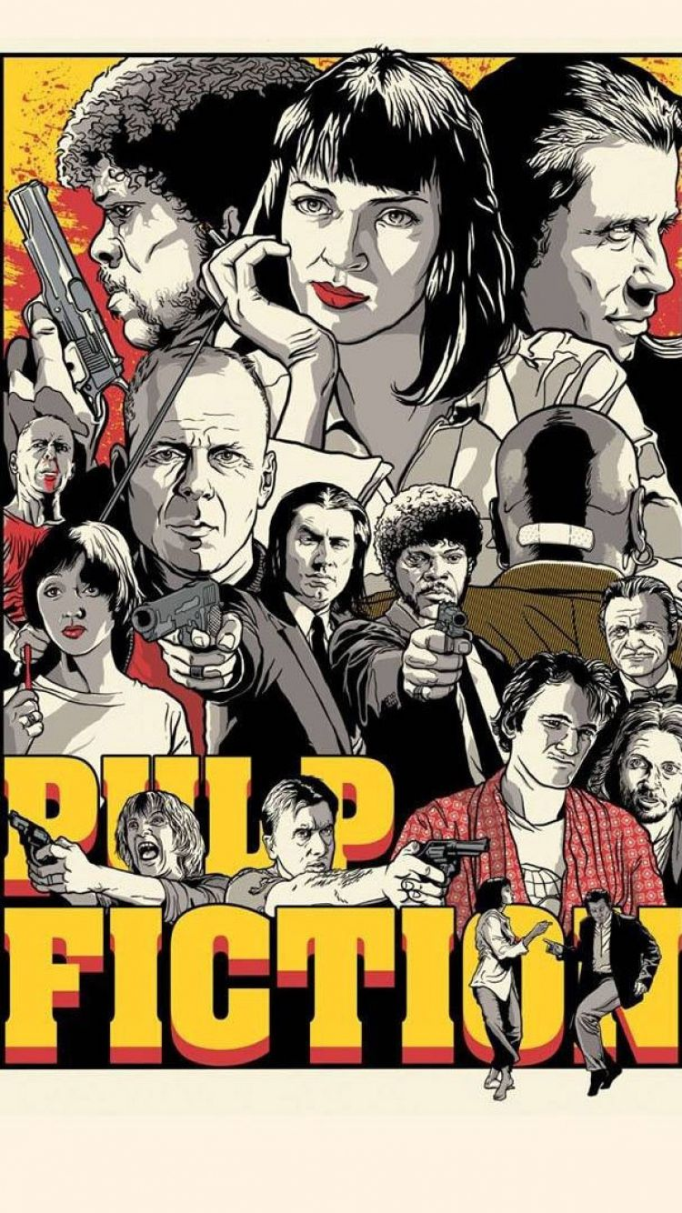 Pulp Fiction Iphone Wallpapers Wallpaperpulse Movie Art Film Art Fiction Movies