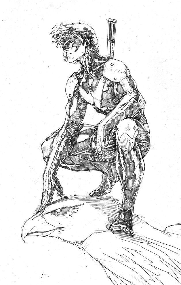 Nightwing by Brett Booth More | Brett Booth | Pinterest ...