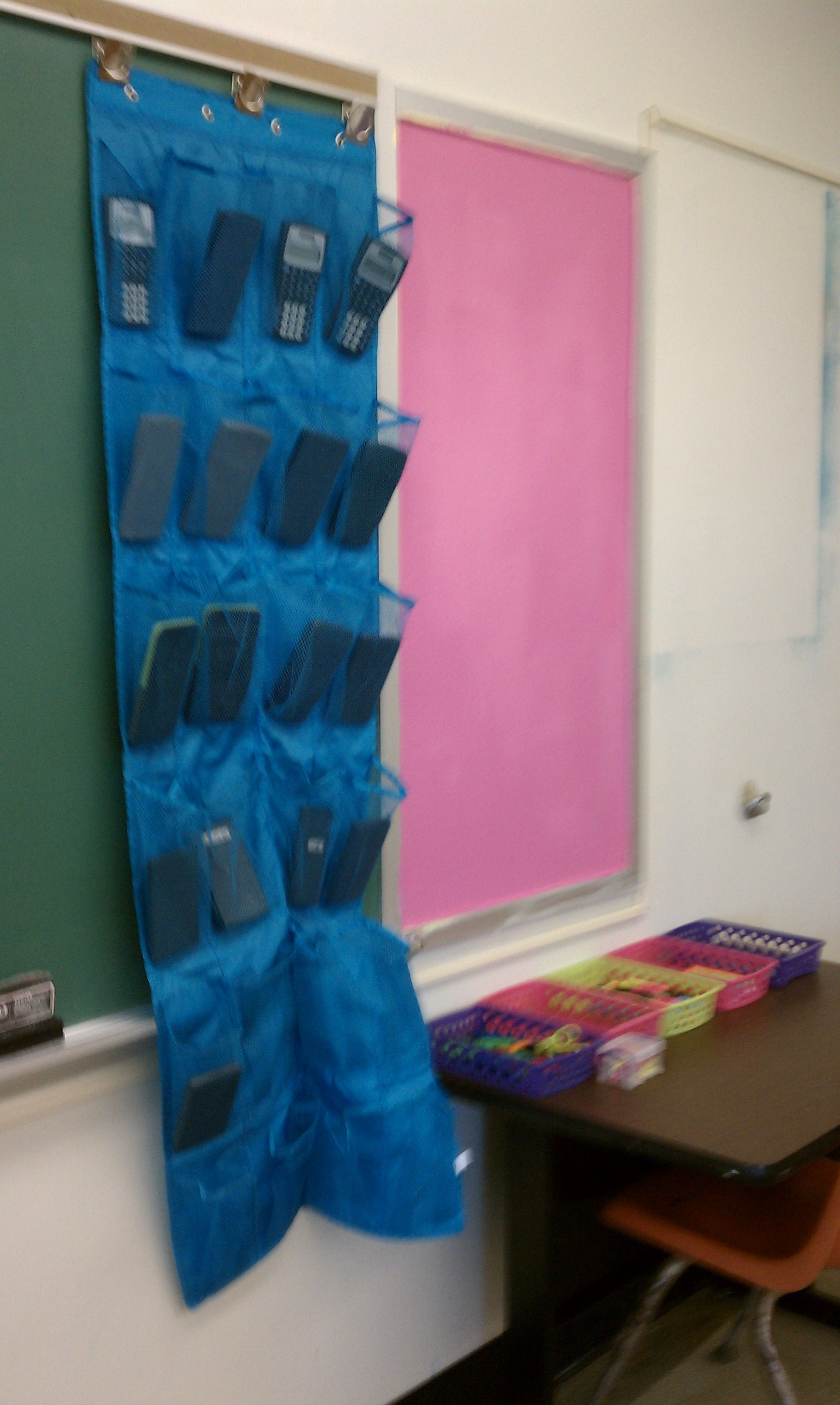 Great Way To Hold Organize The Classroom Calculators A