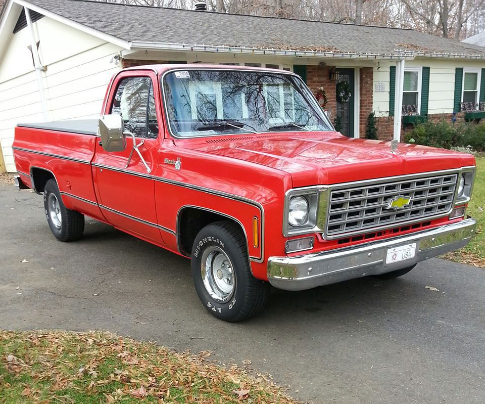 1976 Chevy Truck Lmc Trucklife With Images Trucks Chevy