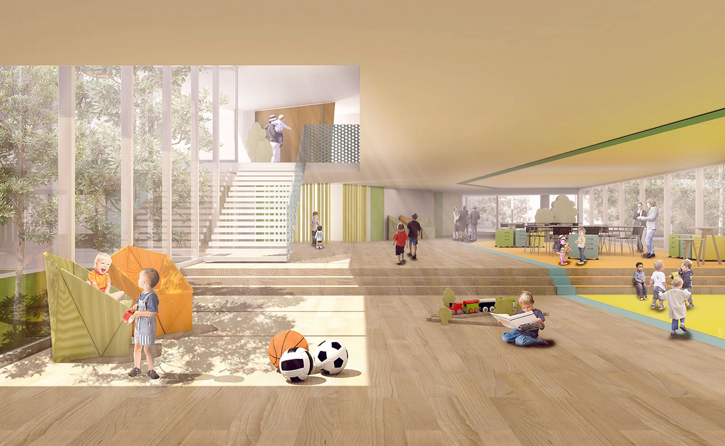 "The winning ideas of the ""School without Classrooms, Berlin"" competition"