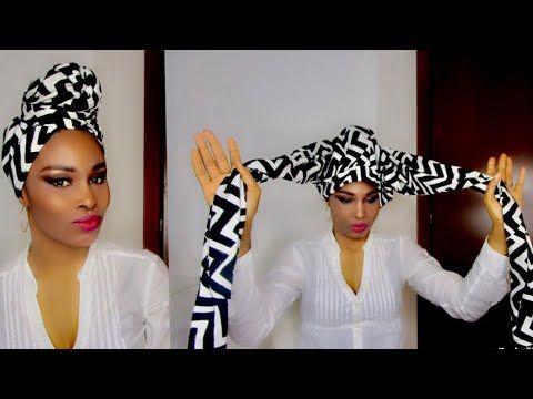 Easy DIY Headwrap Tutorial Using Leggings: Turban