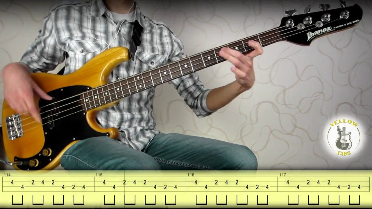 Michael Jackson - Billie Jean (bass cover) with tabs | Bass