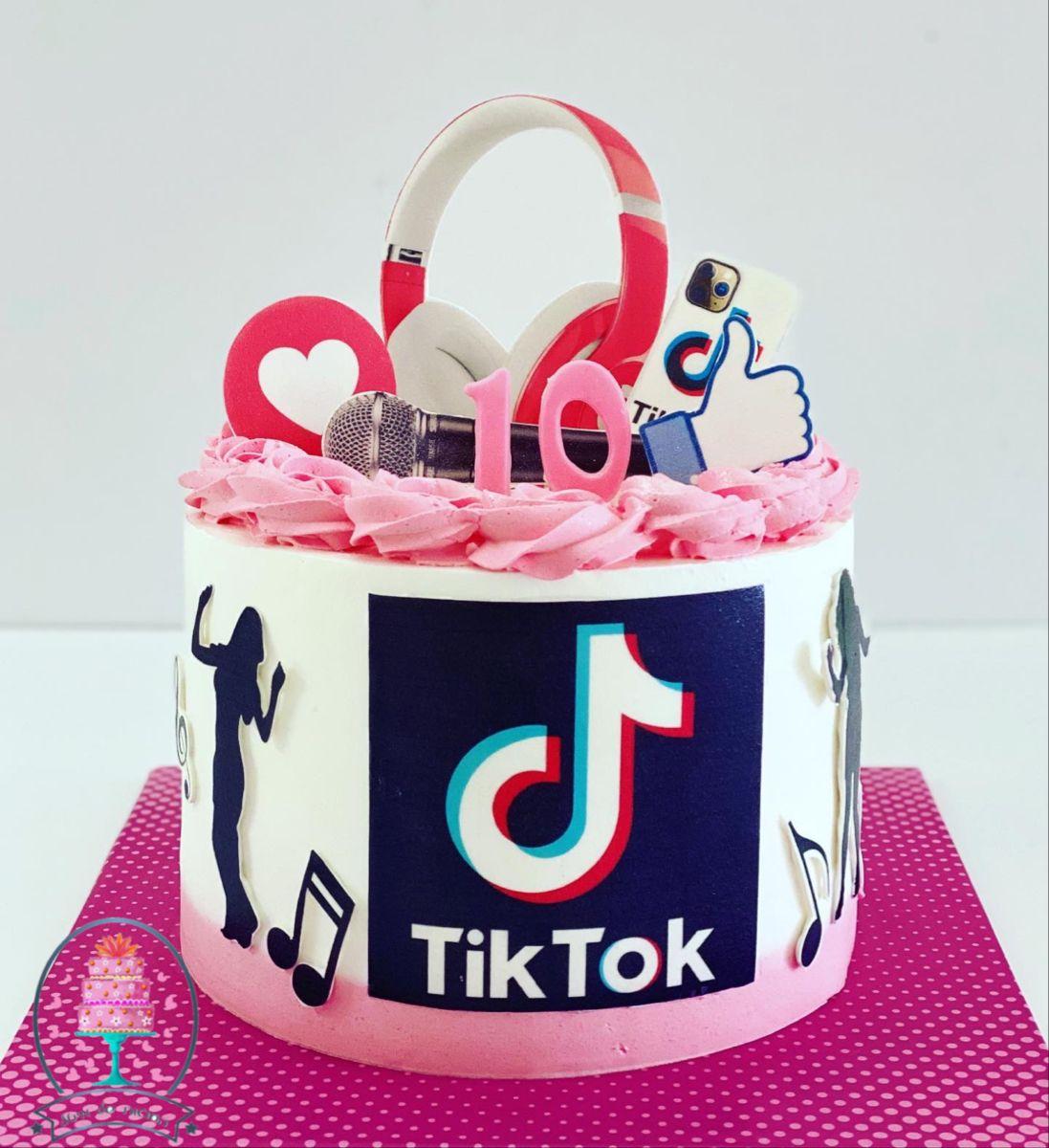 Tiktok Cake Cake Desserts Sweet