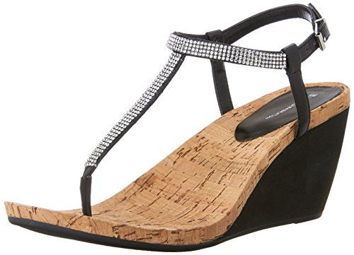 f98d7b50c BCBGeneration Womens Maybel Thong Sandal Black Size 80     You can get more  details by clicking on the image. (This is an affiliate link)   ...