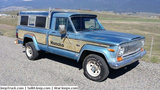 Original Jeep Honcho Levi Edition For Sale At Jeeptruck Com One
