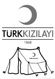 Kizilay Haftasi Boyama Sayfasi Okul Oncesi Calisma Cizelgeleri Okul Ve Okul Oncesi