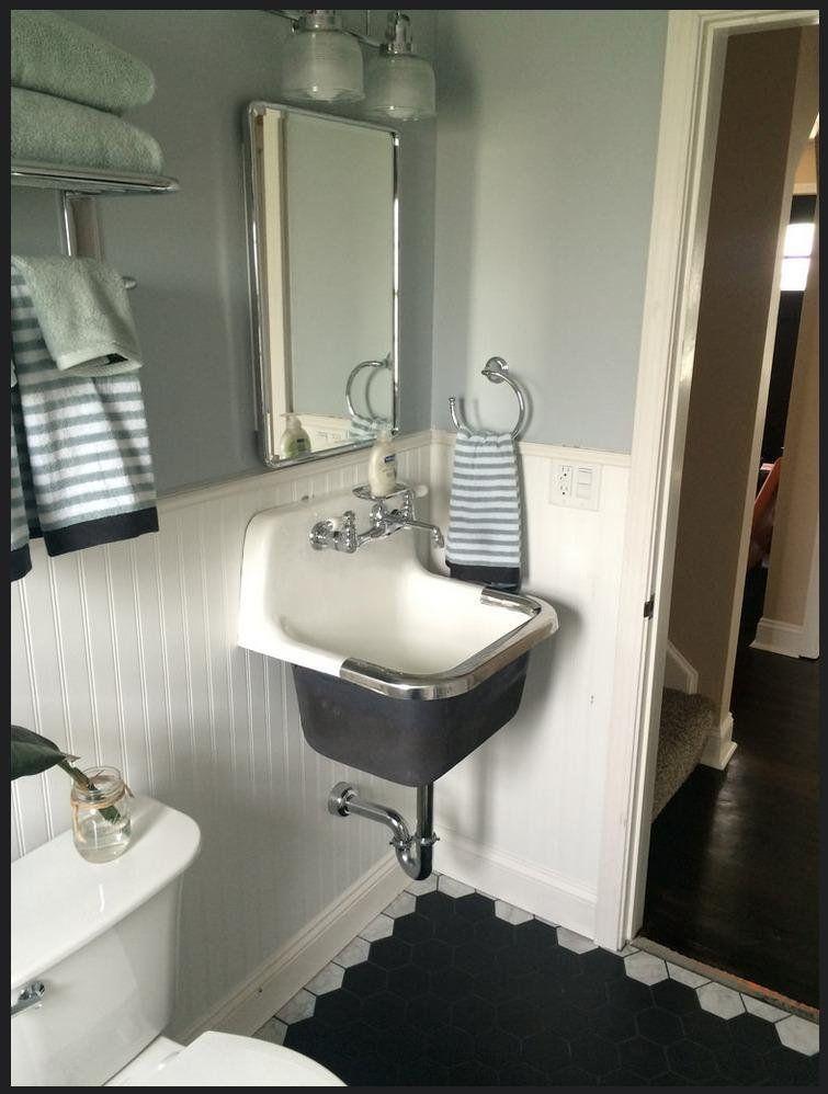 farmhouse bathroom sink wall mount
