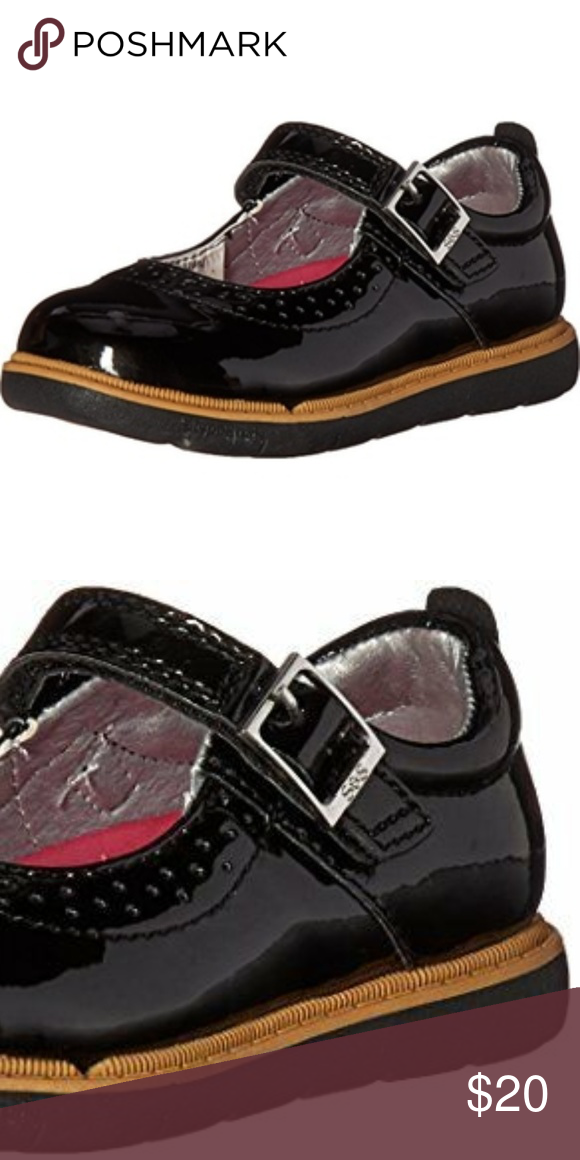 cccfd02a0aa Step   Stride Toddler Girl Black Mary Jane Step   Stride Toddler Girl Black  Mary Jane