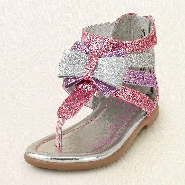 baby girl shoes glitter gladiator sandal