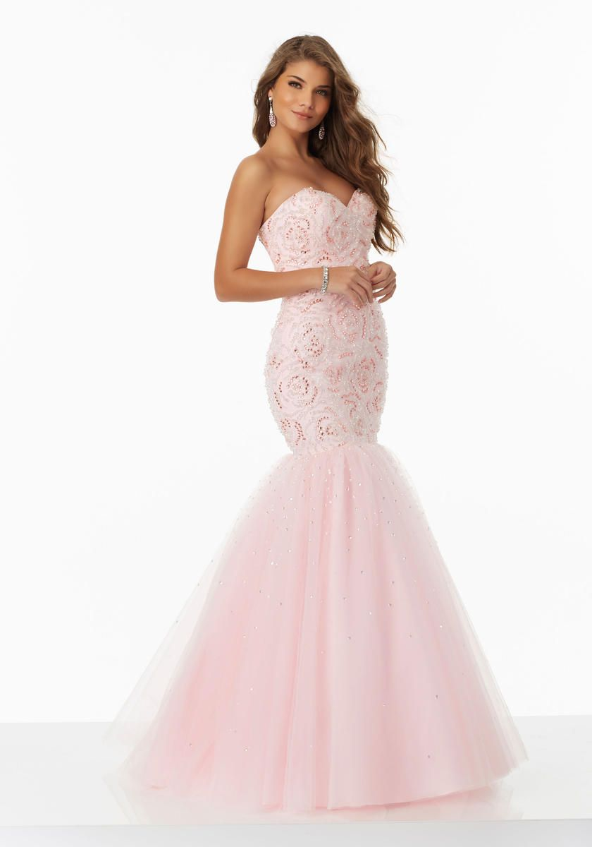 85724bbf7d22 ... Prom Dresses and Accessories. Check out the deal on Morilee 99026  Mermaid Dress with Corset Back at French Novelty