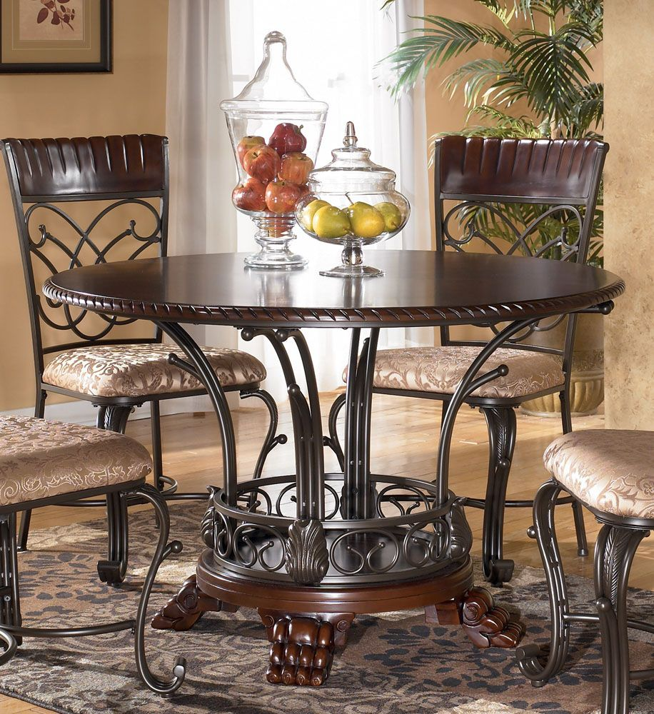 Ashley Furniture Dining Room Table Previous In Dining Tables - Formal round dining room sets