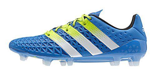 quality design 44a44 c92aa adidas Herren Fussballschuhe ACE 16.1 FG AG shock blue s16 semi solar slime