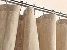 Hemp Shower Curtains Are Naturally Anti Fungal And Bacterial