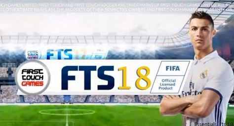 First Touch Soccer 2018 – FTS 18 APK Obb Data Mod Android Game Download