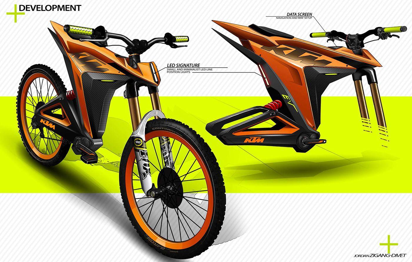 Ktm Electric Mobility Short Project On Behance Ktm Bike Bike Design
