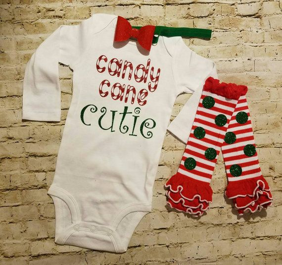 078bf644d baby girl clothes christmas outfit candy by TrendiestTotsInTown ...