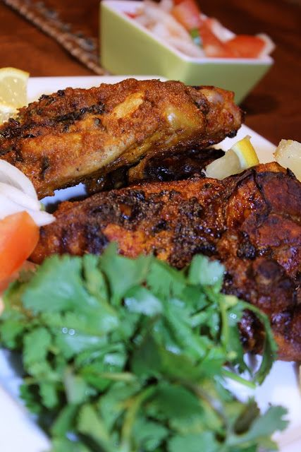 Blessings From My Kitchen: Easy Tandoori Chicken