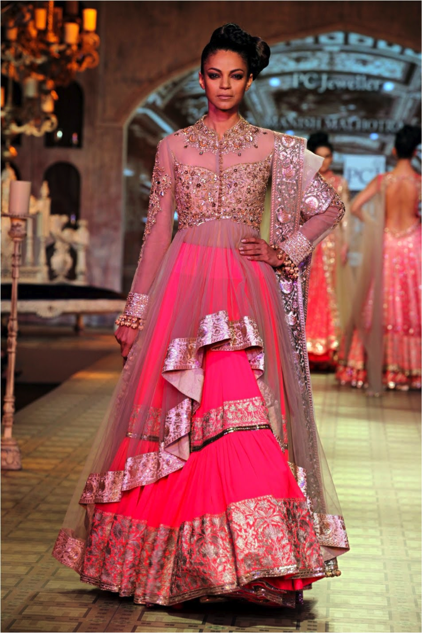 INDIAN WEDDING DRESS DESIGNER – MANISH MALHOTRA | Dress Me Up Pink ...