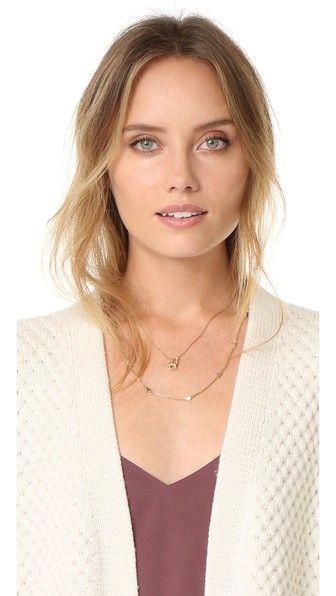 $32 Madewell Llama Charm Necklace