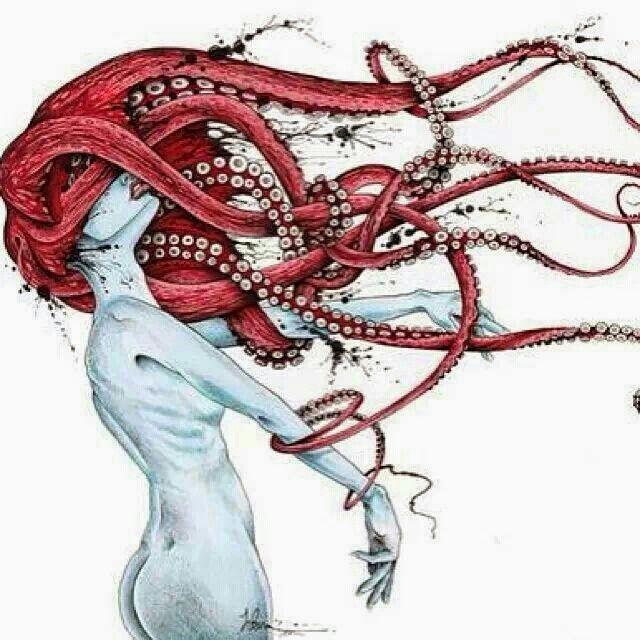 Octo redhead   octi-wants   Pinterest   Beton diy, Zeichen und ...