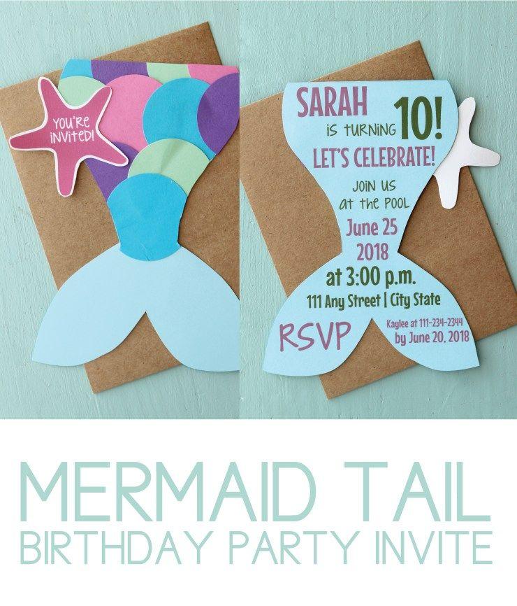 Birthday Party Invitations Diy
