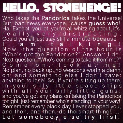Stonehedge Speech :) 11