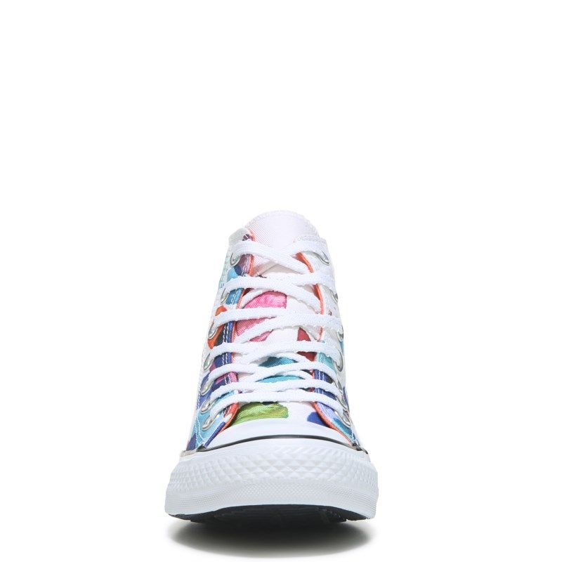 Chuck Taylor All Star Print High Top Sneaker #whiteallstars